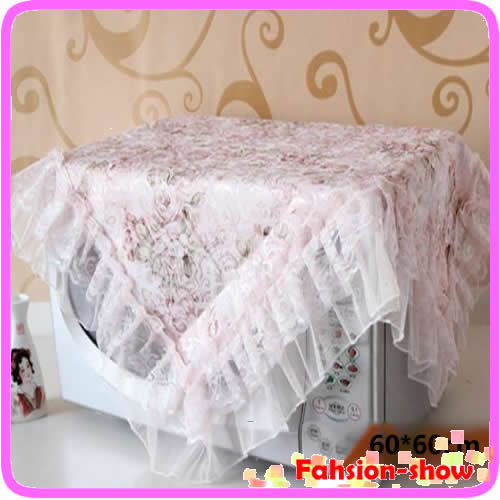 W110New 60*60cm Waltz Eat Desk Chair Set Multi-purpose Towel Cushion Table Cloth Cover Lace Flower Tablecloth(China (Mainland))