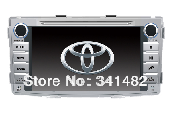 Android CAR RADIO PLAYER WITH GPS FOR TOYOTA HILUX 2012 Navigation DVD Radio Bluetooth PIP TV Free Maps - Shenzhen TomTop E-commerce Technology Co., Ltd. store