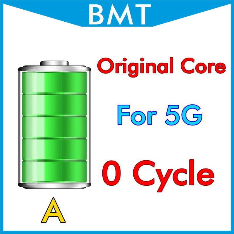 DHL UPS 100pcs/lot Original Core 1440mAh 3.7V Battery for iPhone 5 5G  Genuine 0 zero cycle replacement For BMTI5G0BTA