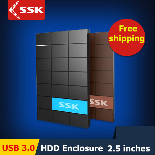 SSK USB 3.0 HDD Enclosure 2.5 Inch SATA HDD CASE Serial port hard disk box External Harddisk HDD Enclosure box(China (Mainland))