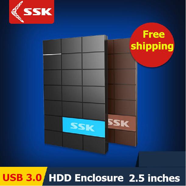 SSK USB 3.0 HDD Enclosure 2.5 Inch SATA HDD CASE Serial port hard disk box External Harddisk HDD Enclosure box(China (Mainland))