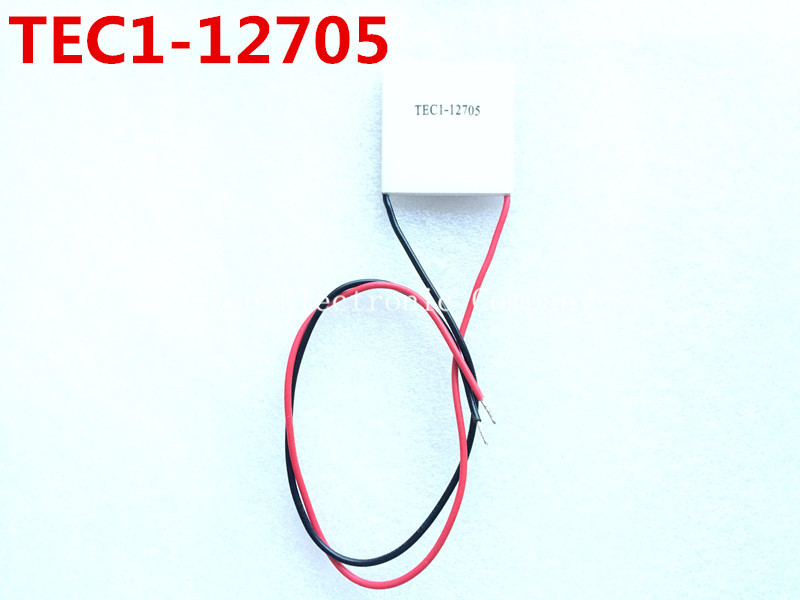 Free shipping! TEC1-12705 Thermoelectric Cooler Peltier 12705 12V 5A Cells, TEC12705 Peltier Elemente Module(China (Mainland))