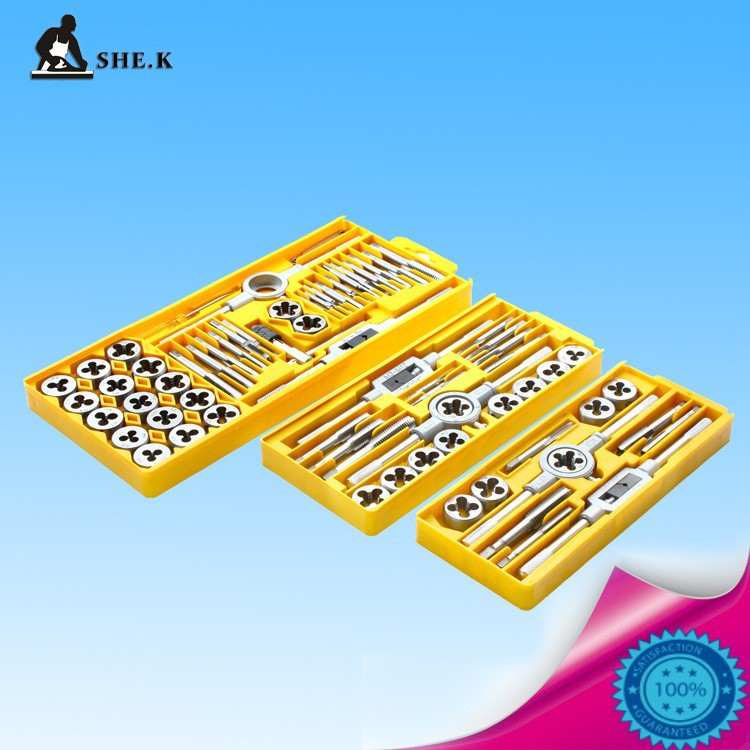 Top Quality Metric Taps Wire Cutting Die Tapping Set High-carbon Steel  Vehicle Maintenance Lathe Accessories 12PCS/Set