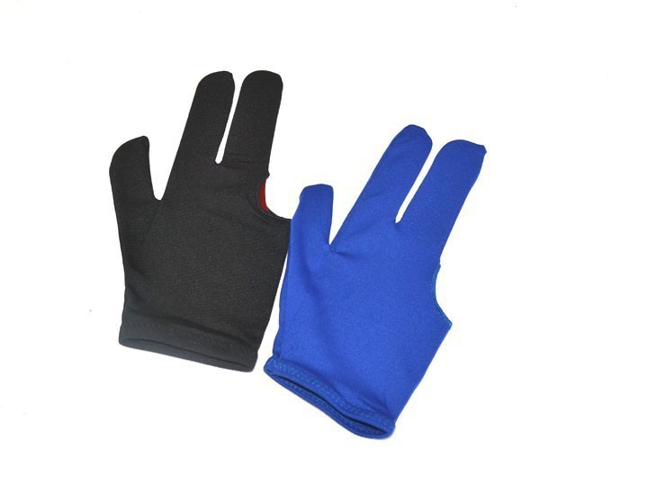 Free Shipping 10pcs/set Billiard Gloves,Snooker Gloves,Pool Gloves, Blue and Black Color For Choose,(China (Mainland))