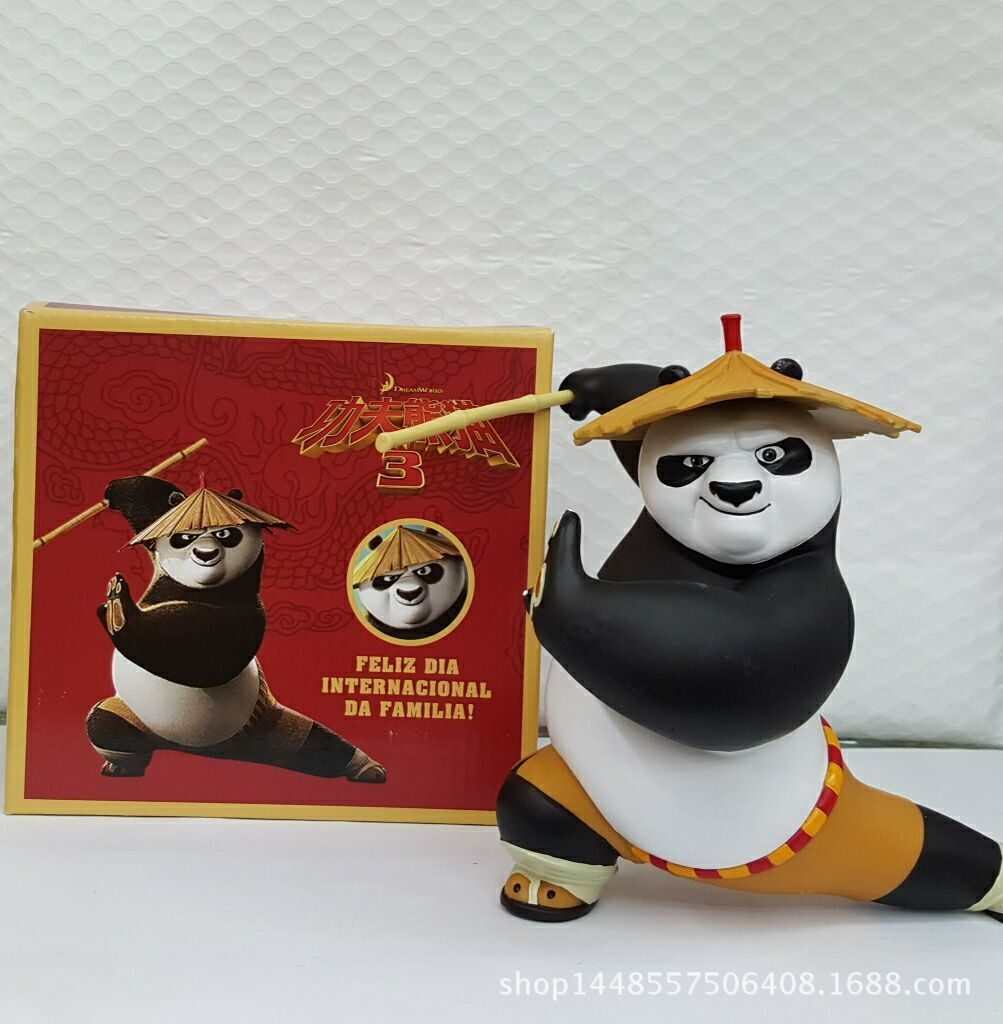 Kung Fu Panda 3  Figures 16cm Superman Figures Anime Movies Figures Collection Models Hot Toys Kids Gifts