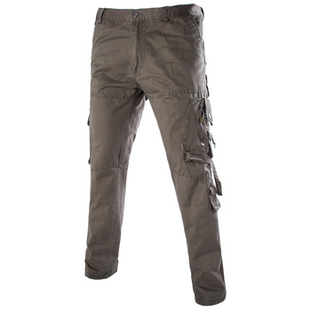 2015 men pants washing overalls high quality men outdoor casual Cargo pants military design trousers jeans men size 28-40