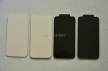 Rear Case Back Glass Battery Housing Door Back Cover Replacement Part With Flash Diffuser For iphone 4 4G 4S Back Glass