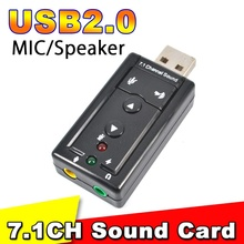 Buy New USB 2.0 7.1 Channel External USB Sound Card 3.5m Jack Audio Adapter Mac OS Windows XP Win 7 8 Linux Vista for $1.17 in AliExpress store