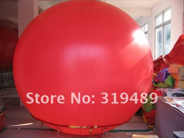 Hot Advertising Helium sky Balloon 6.7ft Diameter for Events/FREE Shipping(China (Mainland))