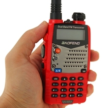 Red Color BAOFENG UV-5RA Professional Dual Band Transceiver FM Two Way Radio Walkie Talkie Transmitter