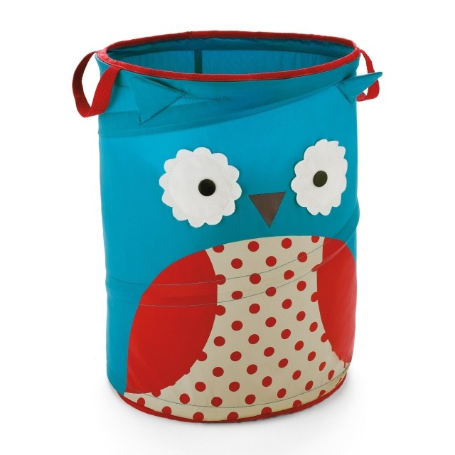 Children Kids Zoo Style Animal Pattern Toys Books Cosmetic Clothing Multi-functional Storage Bins Collapsible Storage Bags Box(China (Mainland))