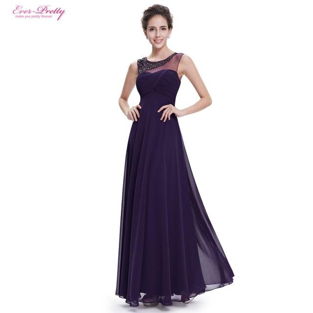 Когда-либо Красивые Вечерние Платья HE08648PP женская Красивый Элегантный Шею Длинным ...