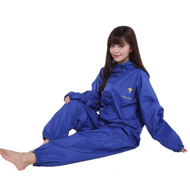 Trasparent Adults Raincoat Sets For Women Men, Rain Poncho Coat Female Waterproof Pants,Tracksuit For Women Chubasqueros Mujer(China (Mainland))