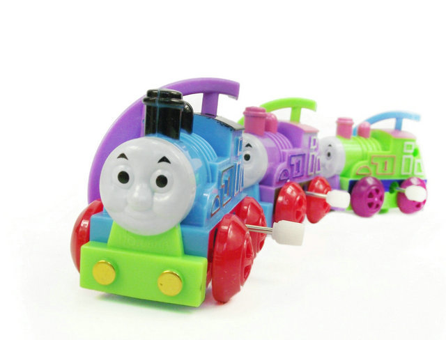 thomas and friends trackmaster train toy cars Clockwork Mini model Wind toys 1 set Thomas Train toy for boys gift(China (Mainland))