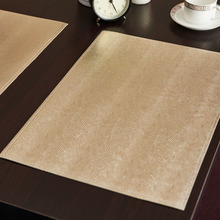 2Pcs Quality PVC Placemat Dining Table Mat Heat Insulation Pad Fashion Flower Pad Coasters Slip-Resistant Kitchen Accessories