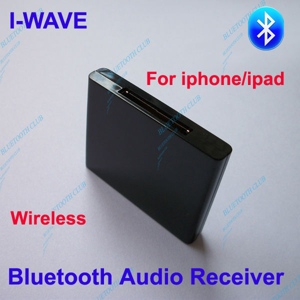 Cheap Wireless A2DP Bluetooth Music Receiver Stereo Audio Adapter for iphone / ipad / ipod Speakers -- Free Shipping