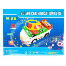 Teacher Wang W-88 New Creative Solar Car Educational Kit, 88 in 1,Child Toy Vehicles, Kid Assemble Solar and Electric Power Toys(China (Mainland))