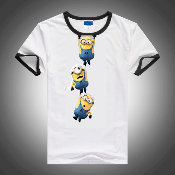 Hot Summer style clothing Despicable Me Minions T-shirt for girls and boys T-shirt Children T-shirt baby children's clothing(China (Mainland))