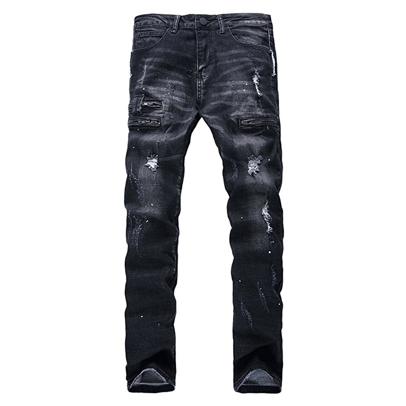 Compare Prices on Slim Fit Black Jeans Men- Online Shopping/Buy ...