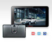 7 inch Car GPS Navigation Android 4 4 2 1080P Car DVR Camera Recorder Wi Fi