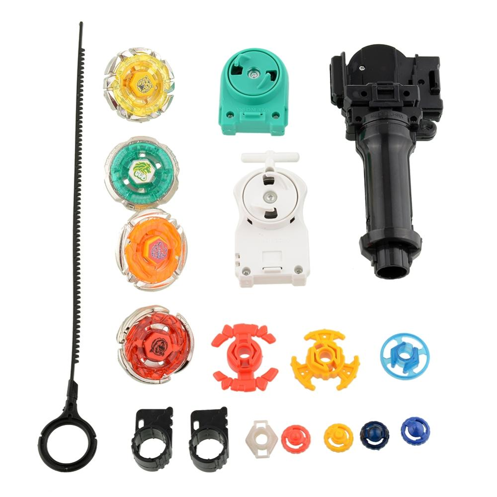 Hot New Metal Rare Spinning Top Rapidity Beyblade Set For Kids Children Free Shipping(China (Mainland))