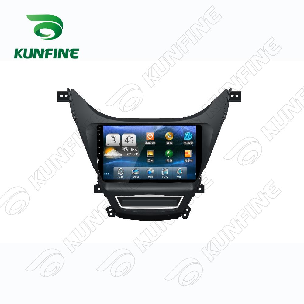 Quad Core 1024*600 Android 5.1 Car DVD GPS Navigation Player Deckless Car Stereo for Hyundai Elantra 2011-2013 Radio Bluetooth
