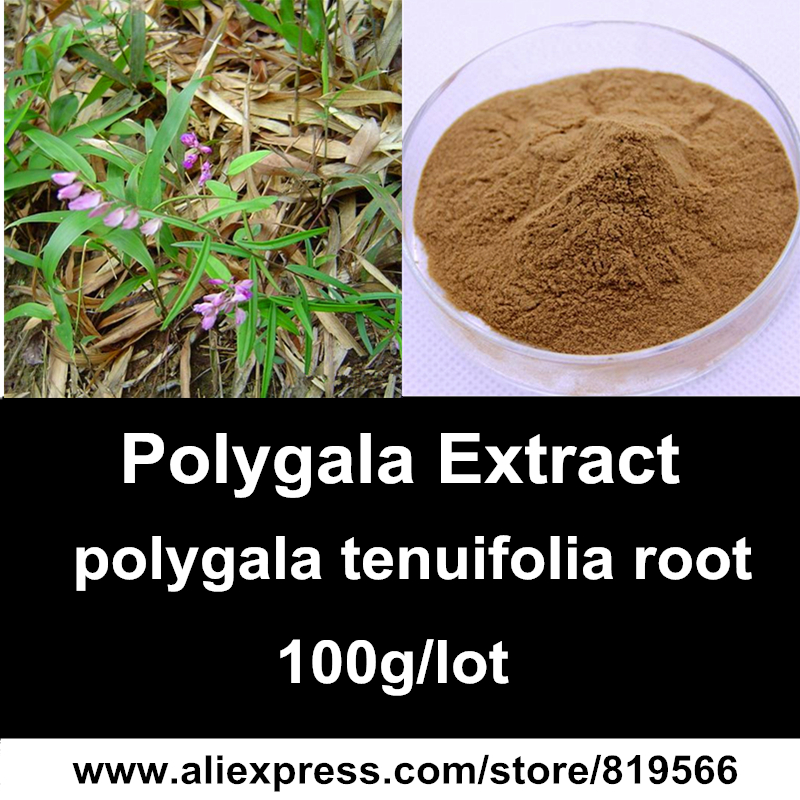 Pure Polygala Tenuifolia Root Extract Powder 10:1 Natural Yuanzhi Health Care Herbal Polygalaceae Dietary Supplements Polygalae<br><br>Aliexpress