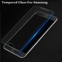 Buy 0.26mm 9H Tempered Glass Samsung Galaxy S3 S4 S5 S6 Mini A3 A5 A7 J1 J3 J5 J7 2015 2016 Grand Prime Screen Protector Film for $1.06 in AliExpress store