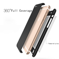 New Hybrid 360 Full Coverage Coque Hard PC Ultra thin Cover For Apple iPhone 7 6