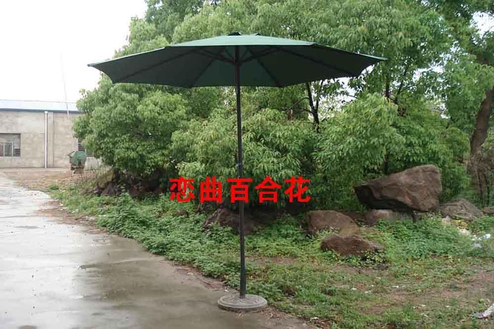 Foreign metal hand column umbrella parasol umbrellas Tiesan patio Garden outdoor furniture<br><br>Aliexpress