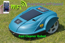 Robot Grass Lawn Mower S510 With Newest Updated APP Wifi Wiress Control, Easy Operation by Your IPhone or Smart Phone(China (Mainland))