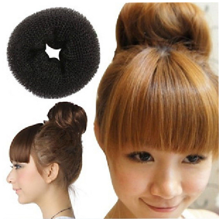 2pcs Meatball Head Manager Recommended Essential Bed Head Hair Accessories 5cm-6cm(China (Mainland))