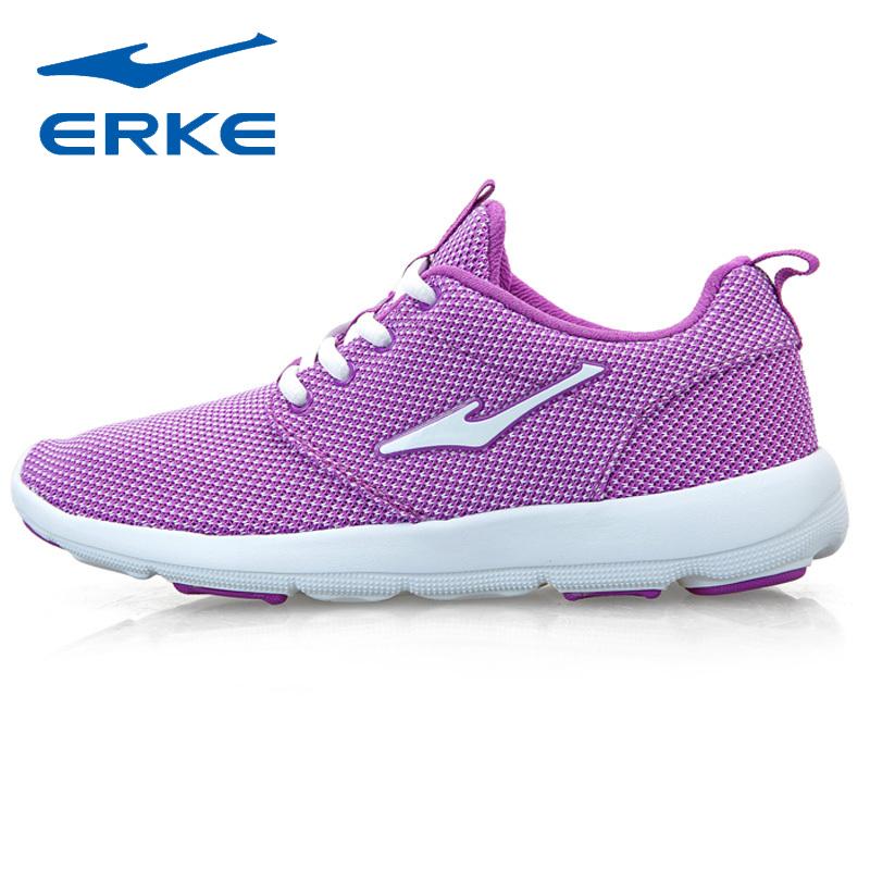 ERKE Womens Fashion Sports Running Shoes Sneakers Women Free Mesh Run Runners Jogging Woman