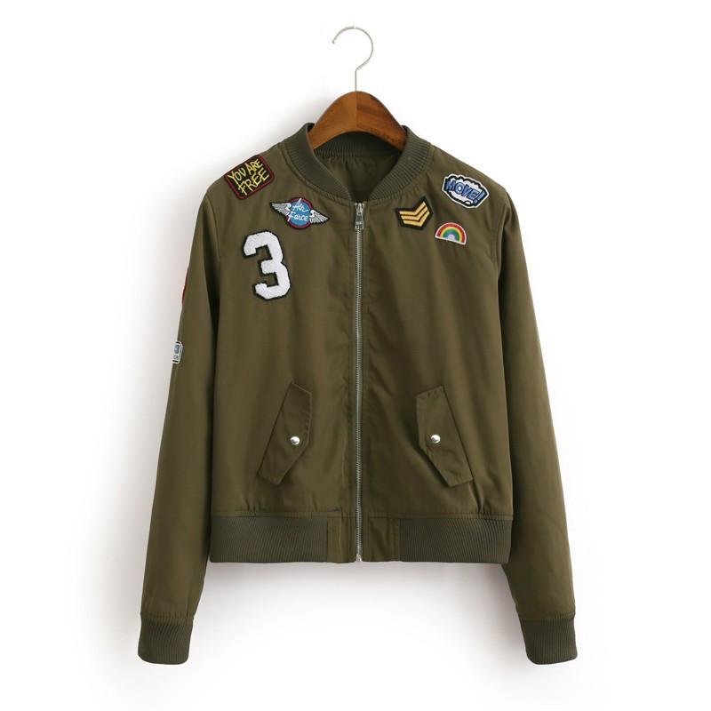 Online Get Cheap Black Girls Bomber Jacket -Aliexpress.com ...