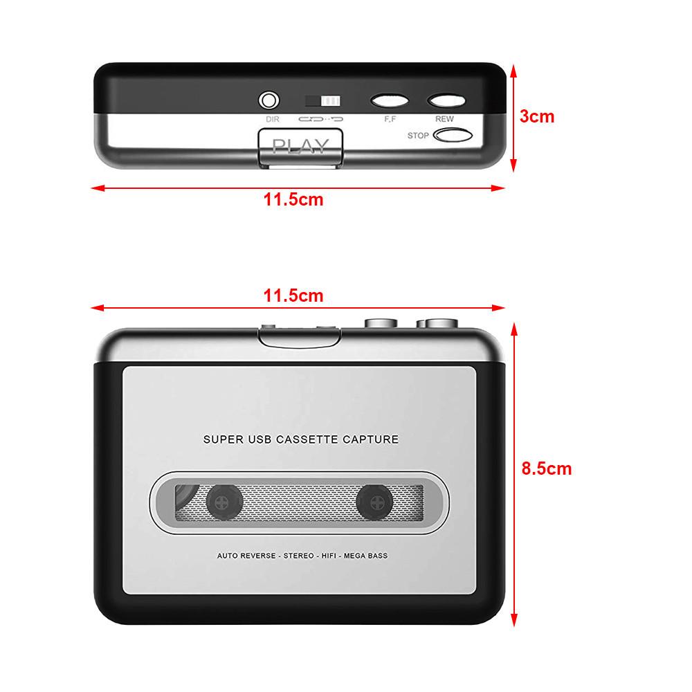 Heim-audio & Video Cassette & Spieler GüNstiger Verkauf 1 Set Tragbare Usb Cassette Player Erfassen Cassette Recorder Konverter Digital Audio Musik-player