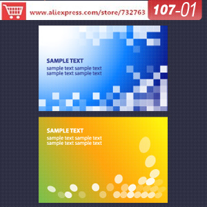 0107-01 business card template for software to scan business cards 500 free business cards design template(China (Mainland))