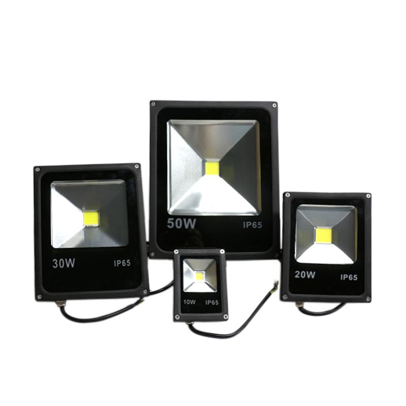 LED Flood Light 10w 20w 30w 50w 70w 100w IP65 Warm White / Cool White christmas football field Lighting proyector Led Floodlight(China (Mainland))