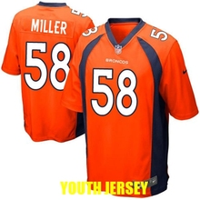 denver broncos John Elway Emmanuel Sanders Peyton Manning Von Miller Demaryius Thomas John Elway For YOUTH KIDS,camouflage(China (Mainland))