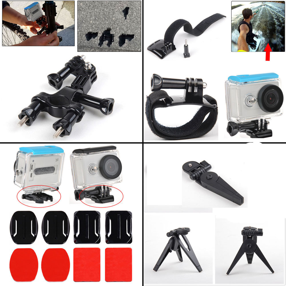 For Xiaomi Xiao yi Chest Head Sports Outdoor Kit Accessories For Gopro Go Pro hero 4 session 4 3+ 3 SJ4000 SJ5000 SJ6000
