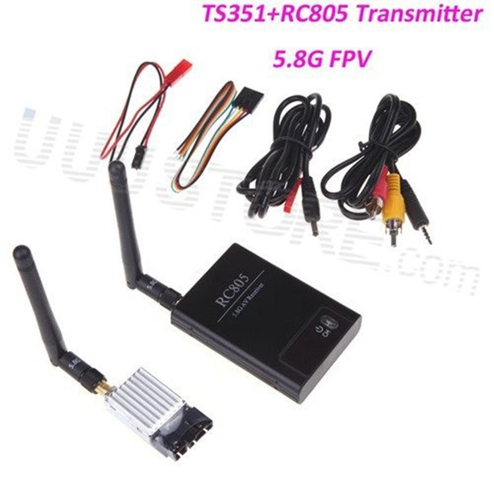 RC FPV Combo System 5.8g 200mw Wireless TS351 Transmitter  RC805 Receiver HD Monitor CCTV Camera for DJI Phantom QAV250 drone