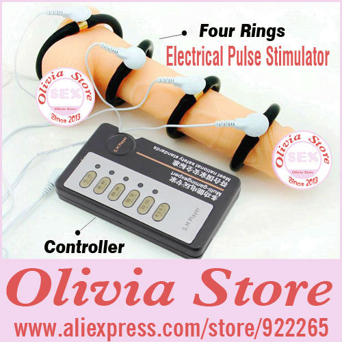 Electrical Pulse Stimulator and shocker,Penis Elargement and Enhancer,Dick Training,Enlarger and Stimulation,Sex Products(China (Mainland))