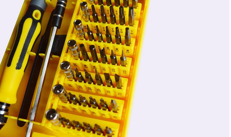 45-in-1 Professional Hardware Screw Driver Tool Kit Freeshipping Dropshipping Wholesale(China (Mainland))