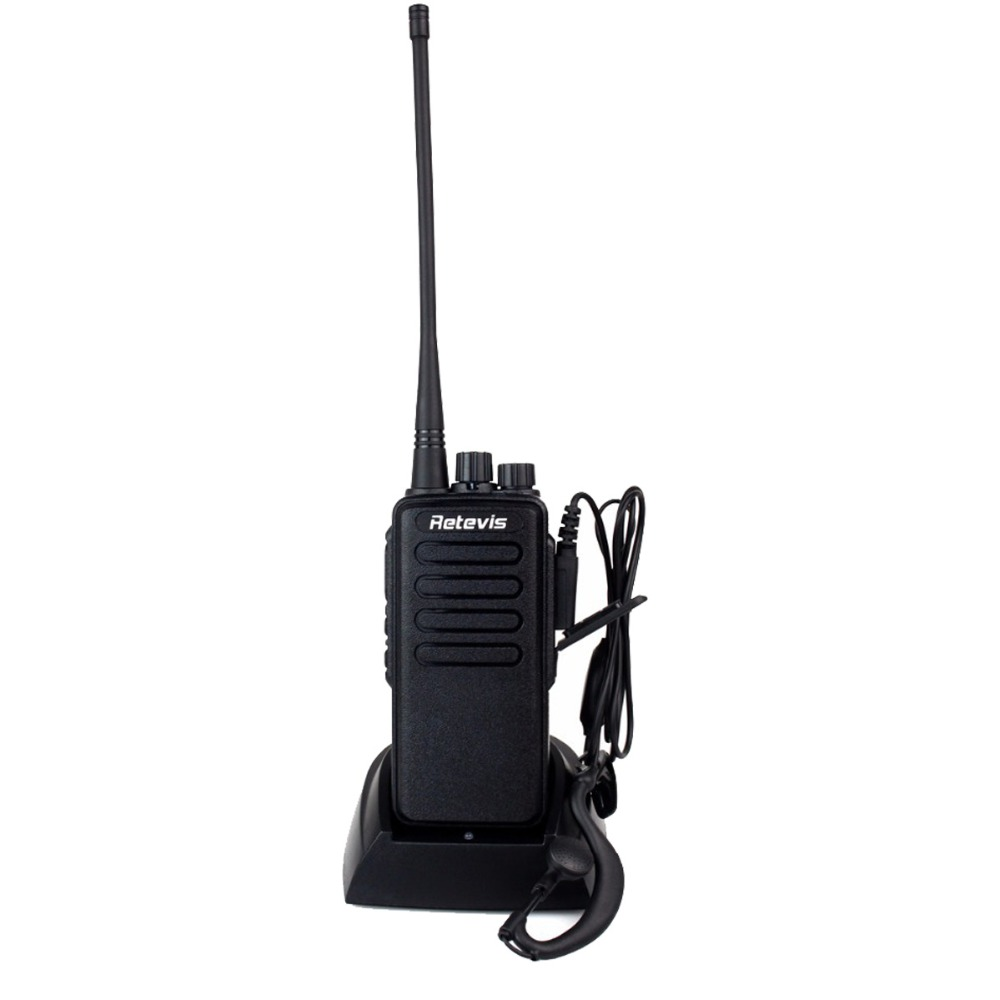 10W Walkie Talkie Retevis RT1 UHF 400-520 MHz Ham Radio Hf Transceiver Scrambler 1750Hz tone Two Antenna Waterproof IP54 A9106A(China (Mainland))