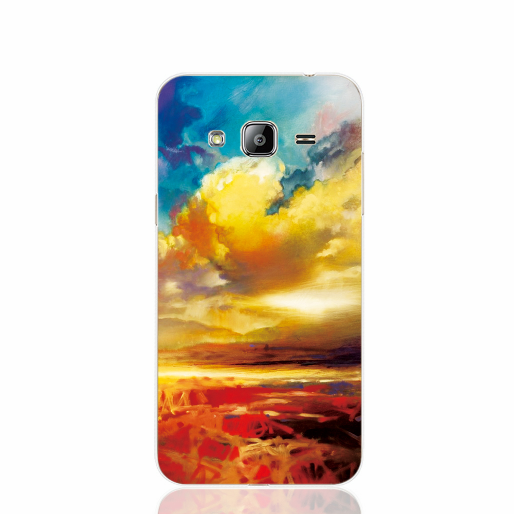 21835 Silver Lining cell phone case cover for Samsung Galaxy J1 MINI J2 J3 J7 ON5 ON7 J120F 2016(China (Mainland))