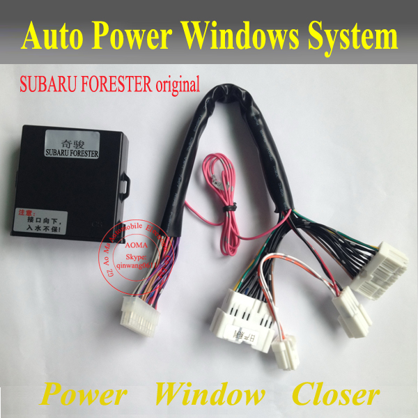 Window Closer/ For SUBARU FORESTER original cars/Upgrade car security /Roll Up Closer Module /For Turkey market/Free shipping(China (Mainland))
