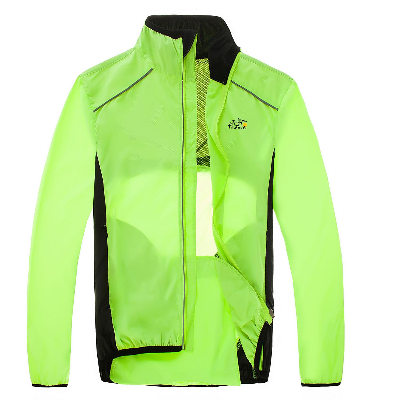 2015 Waterproof Cycling Jerseys Rain Coat Ropa Ciclismo Wind Coat/Windproof Windcoat Bicycle Clothing MTB Bike Cycle Raincoat(China (Mainland))