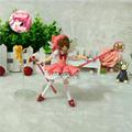 Sakura Figure Japan Anime Sakura Card Captor figma 244 Cardcaptor Magic Girl Sakura 16cm Action Figure