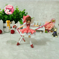 Sakura Figure Japan Anime Sakura Card Captor figma 244 Cardcaptor Magic Girl Sakura 16cm Action Figure
