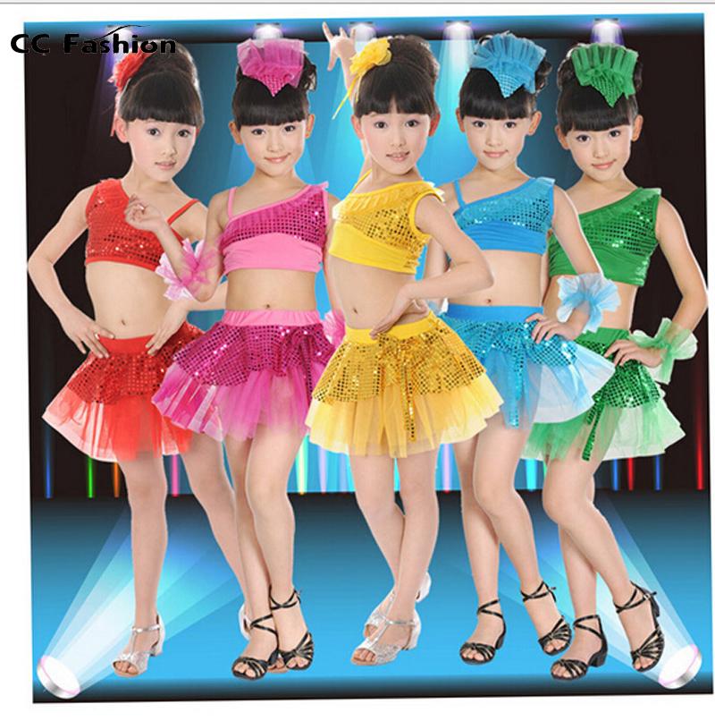 Танцевальный костюм для девочки