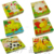 Children educational early childhood toy six-dimensional jigsaw puzzle